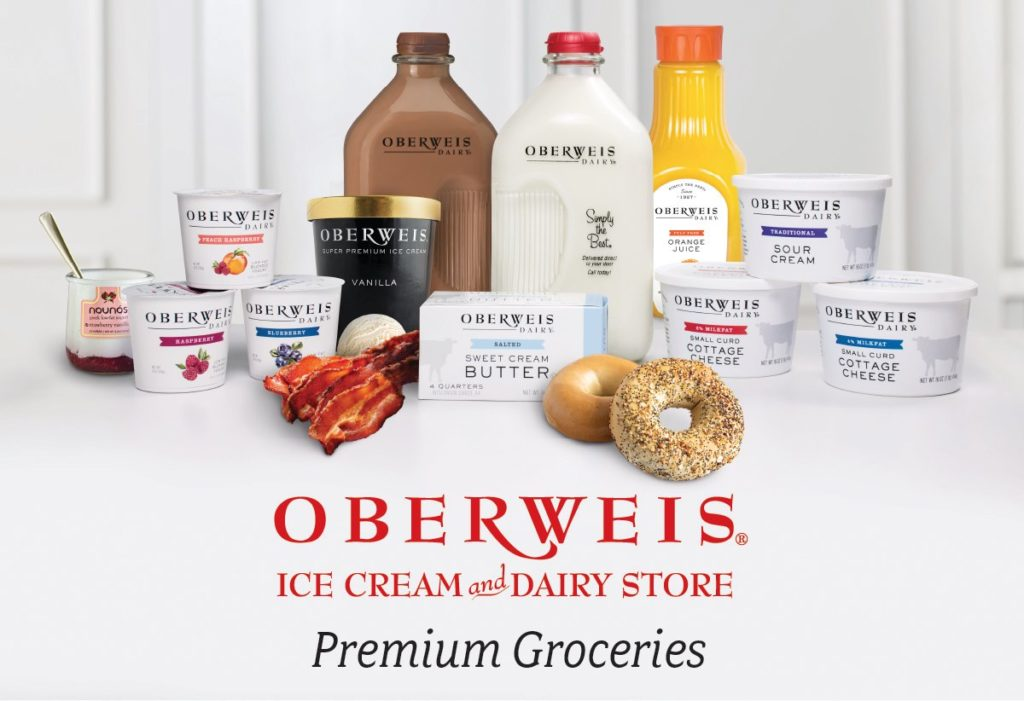 Oberweis Dairy home delivery products