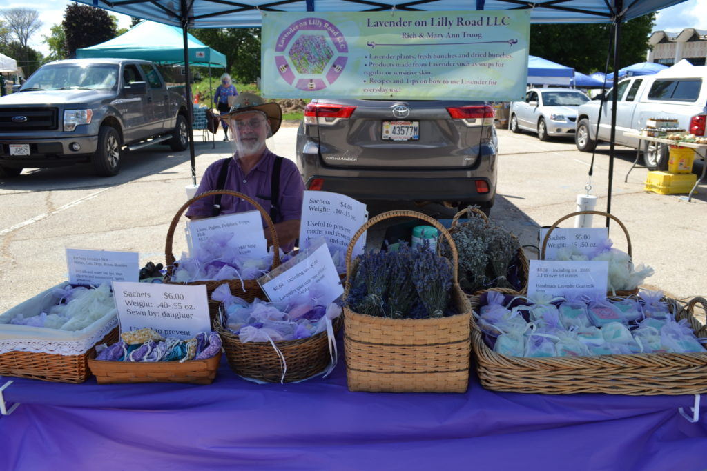 fresh lavender and lavender soaps and products