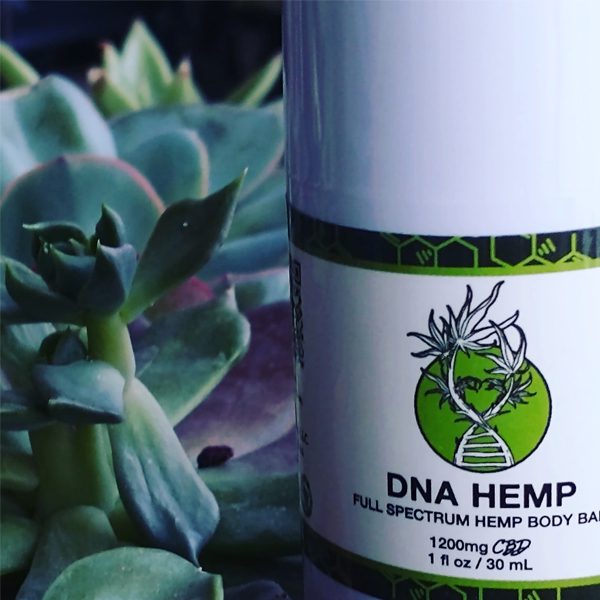 Photo of DNA Hemp products.