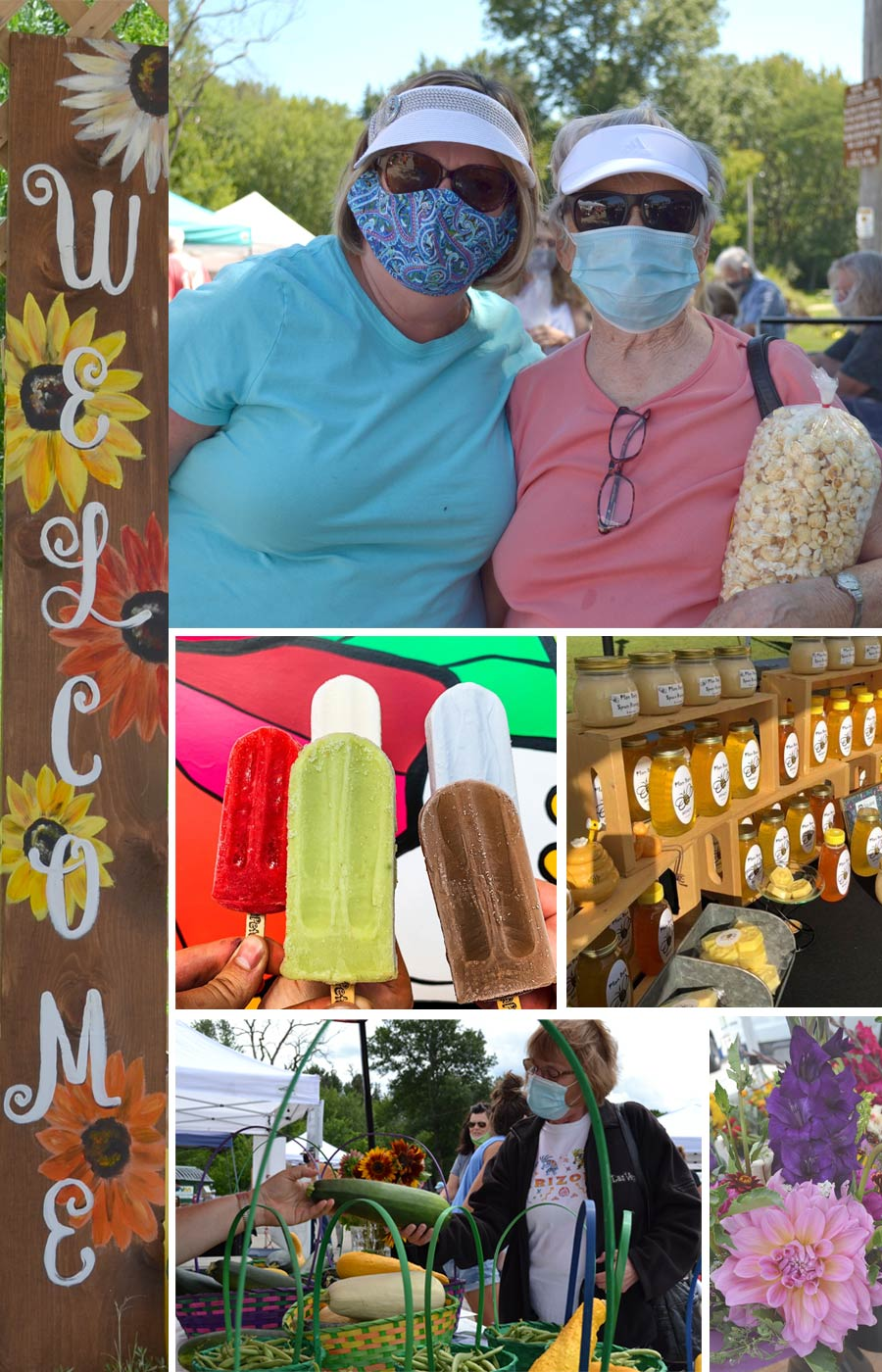 Photo of Menomonee Falls Farmers Market happenings.