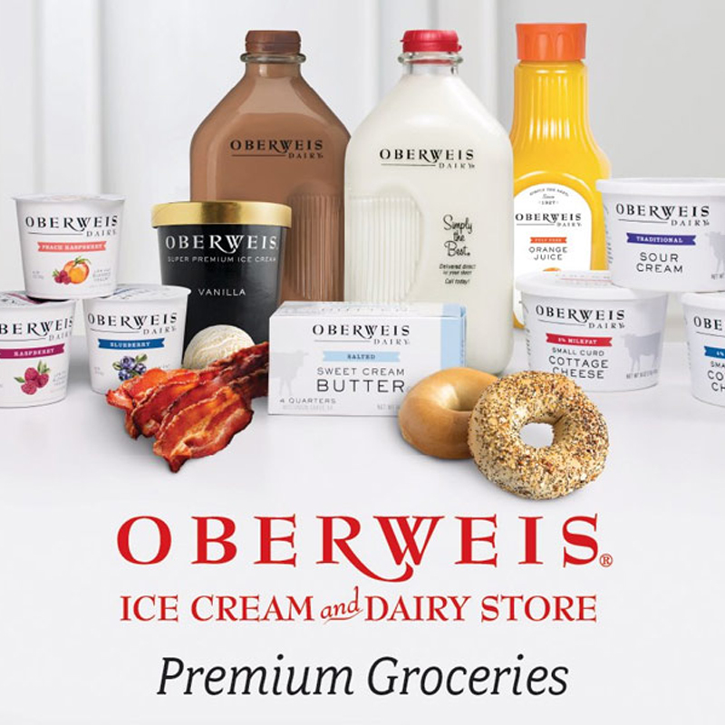Photo of Oberweis Dairy products.